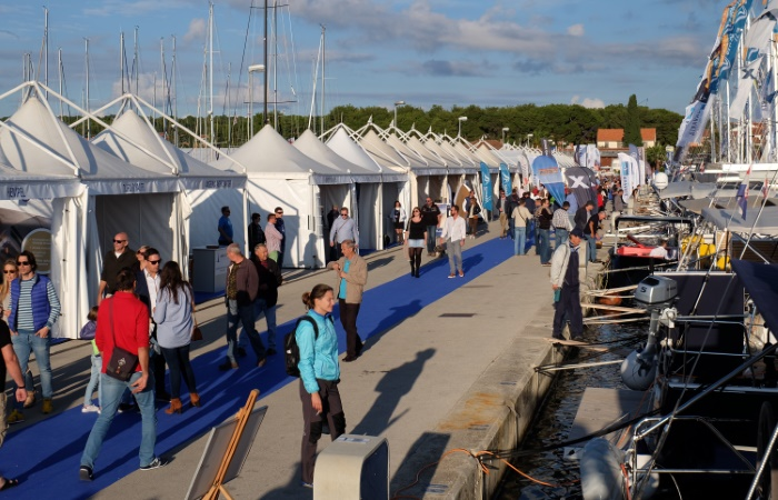 18.0 Biograd Boat Show visitors