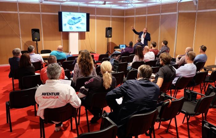 Yacht-Pool presentation 18. Biograd Boat Show 2016.