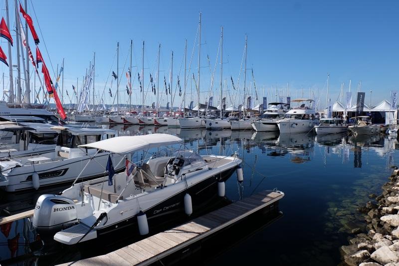 Yacht-Pool na Biograd Boat Showu 2017. pregled