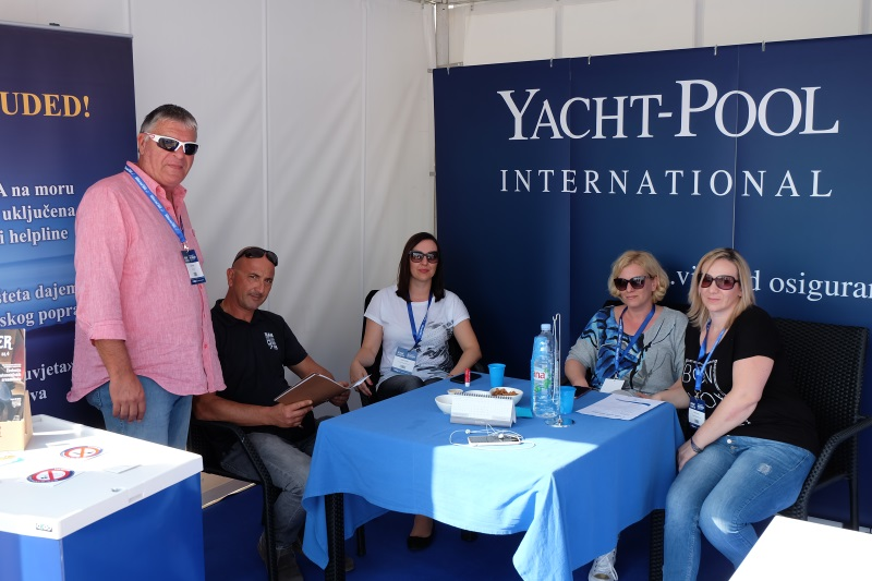 Yacht-Pool booth 19.0 Biograd Boat Show 2017.