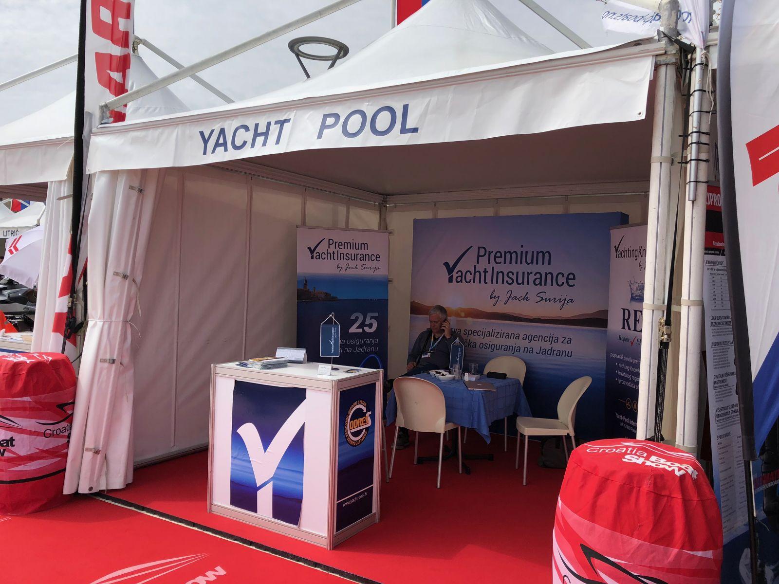 20. Croatia Boat Show Premium Yacht Insurance štand