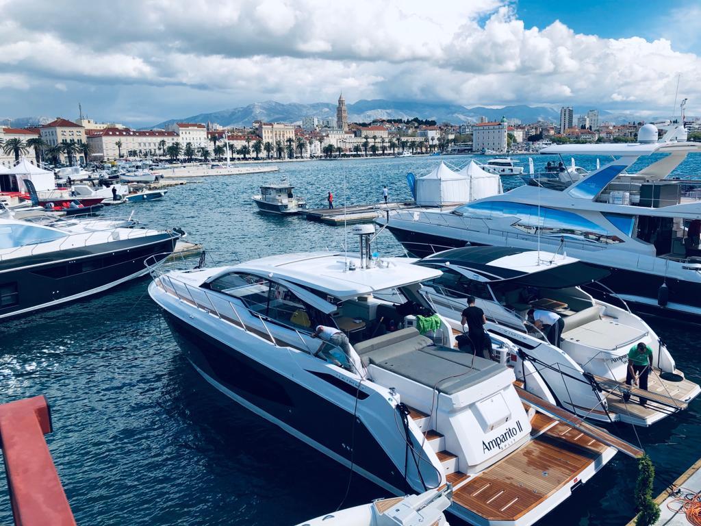 21. Croatia Boat Show Split panorama Zapadna obala