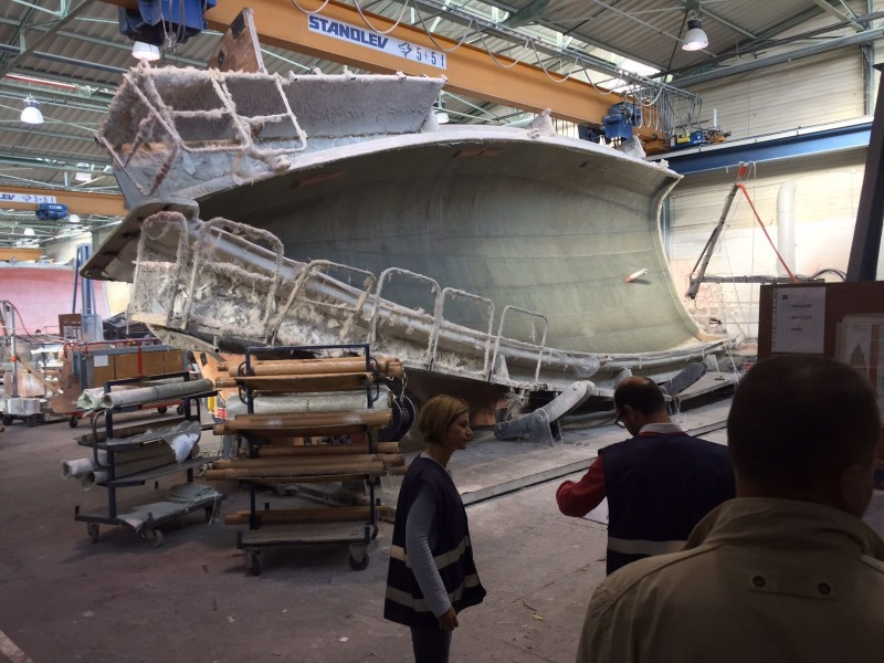 Studijsko putovanje škver Dufour Francuska Yacht-Pool 2016