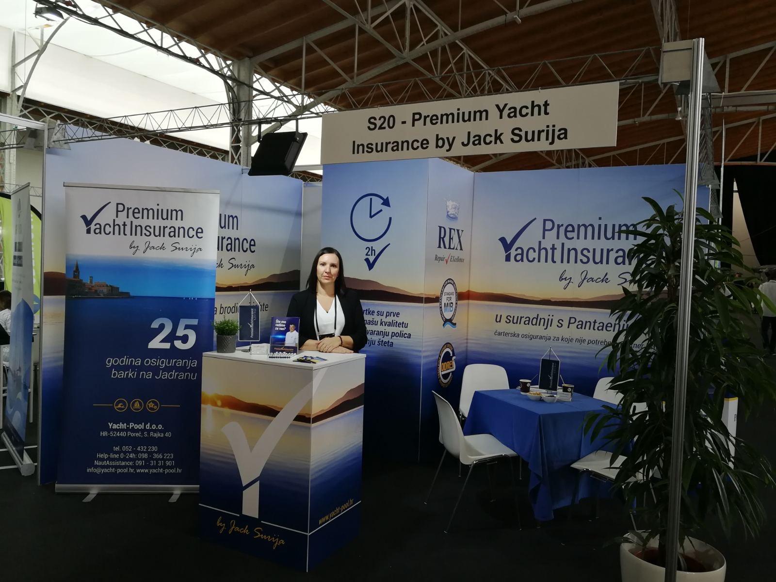 Premium Yacht Insurance štand na ICE'19
