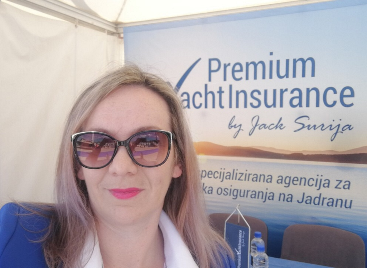 Premium Yacht Insurance exhibited at Nautica Marina Portorož 2019