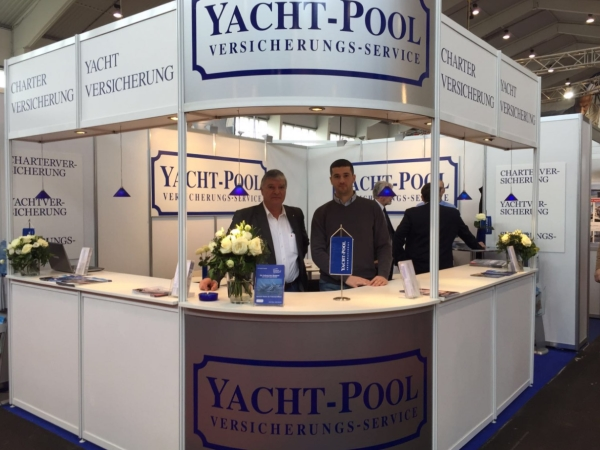 Yacht-Pool at the Boot Tulln 2016.