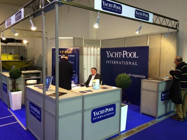 Yacht-Pool štand na Beogradskom sajmu nautike 2015.