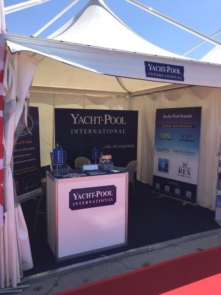 Yacht-Pool štand na 20. Internautici Portorož 2015. Slovenija