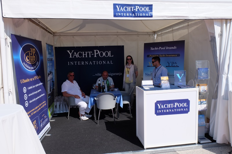 Yacht-Pool štand Internautica 2016.