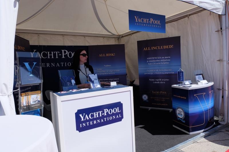 Yacht-Pool štand na Internautici 2017. Marina Portorož