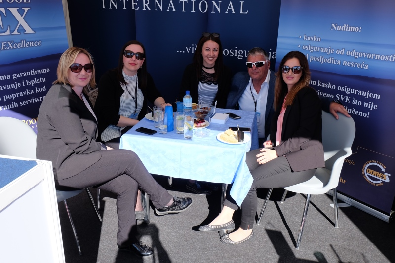 Yacht-Pool team at Internautica 2017.