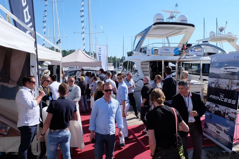 Yacht-Pool Party in Portorož at the boat show Internautica 2017.