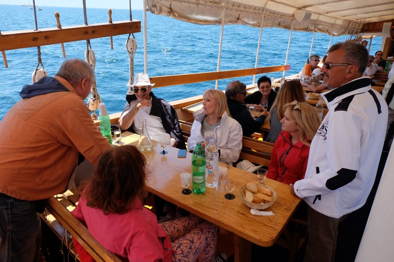 "Yacht-Pool Party  ""Sveti Mauro"" ship pleasant gathering"