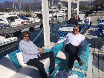 Yacht-Pool posada na Nautic Show Budva 2015.