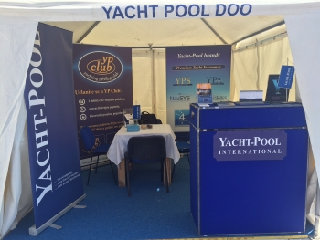 Yacht-Pool štand na 33. Nautic Show Budva 2015.