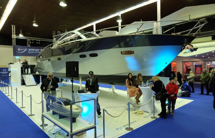 Zagreb Boat Show 2017. Pearlsea 56 Cuope