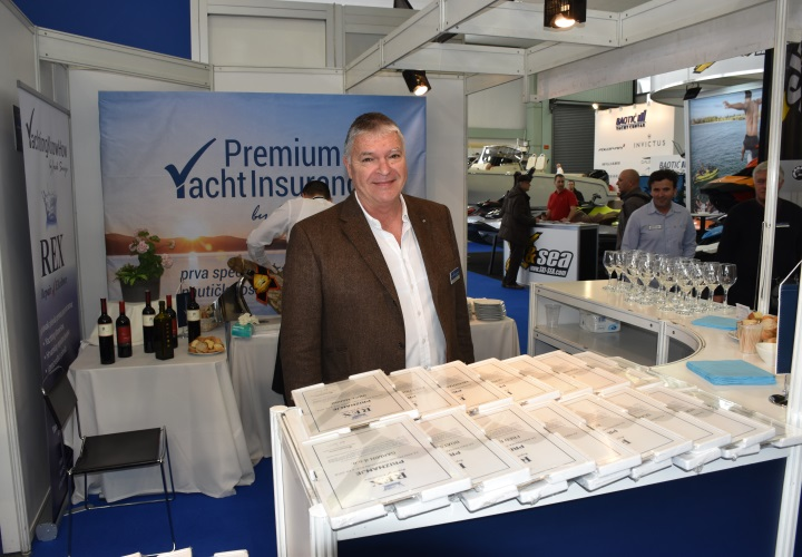 Premium Yacht Insurance at Zagreb boat show REX presentation