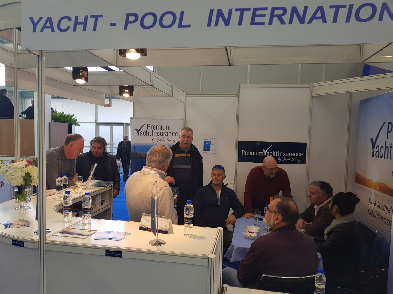 PYI stand at Zagreb boat show 2019 marine insurance